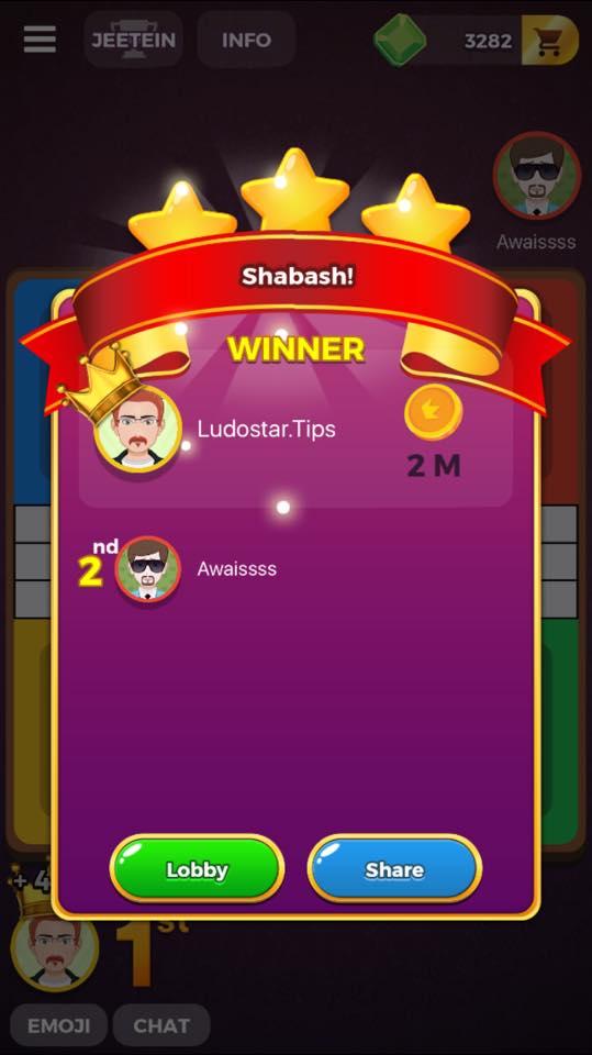 ludo star quick match win